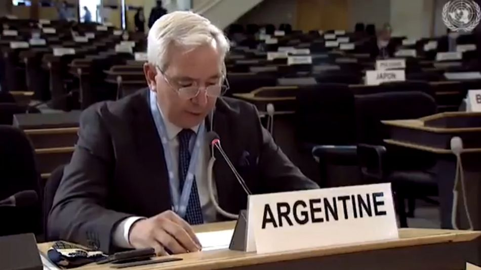 Federico Villegas, embajador argentino ante la ONU.