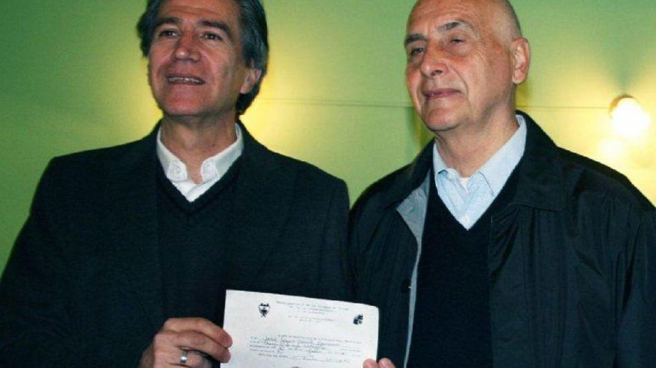 matrimonio igualitario José Luis Navarro y Miguel Calefato
