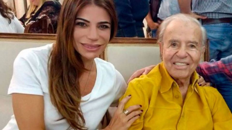 Zulemita Menem habló de la nueva internación de su padre, el expresidente Carlos Menem