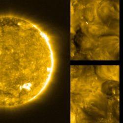 Más allá de las espectaculares imágenes, los científicos de la ESA han encontrado numerosas erupciones solares cerca de su superficie.