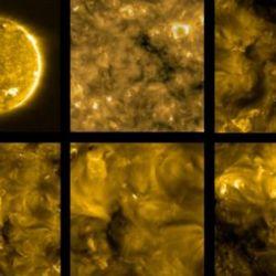 """Estas """"fulguraciones solares"""" en miniatura revelan que la superficie del sol es mucho más activa de lo que podría parecer a simple vista."""