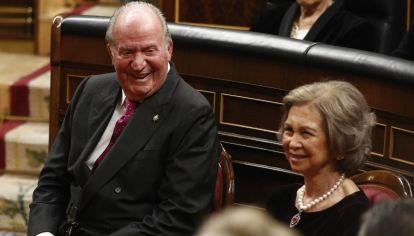 Juan Carlos I y Sofía, reyes eméritos de España.