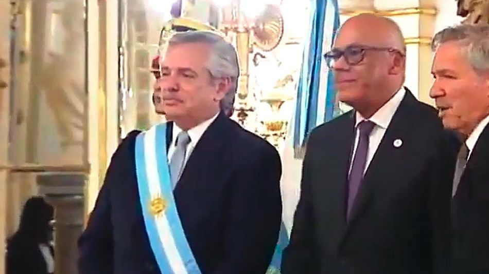 Alberto Fernandez y Jorge Rodríguez 20200716
