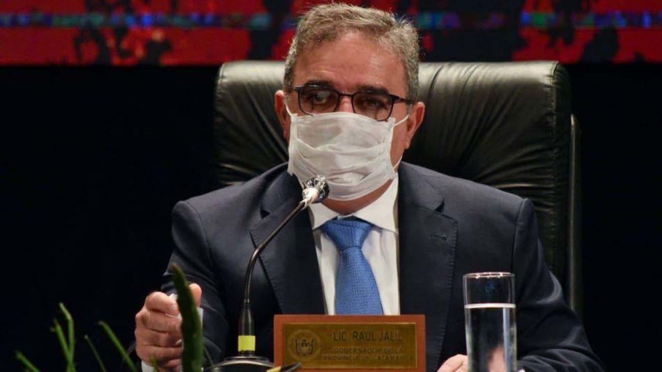 Raul Jalil, gobernador de Catamarca-20200716