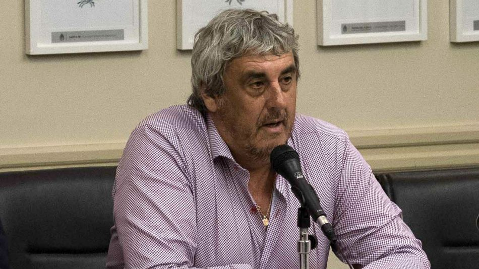Sergio Romero, secretario general de Unión Docentes Argentinos (UDA).
