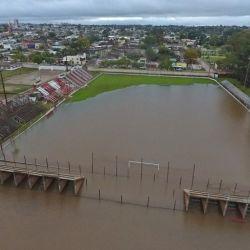 Las autoridades uruguayas del Senae prevén una gran inundación en el litoral.