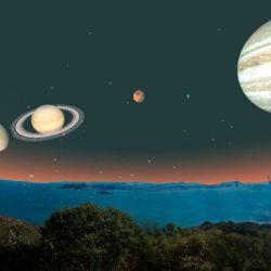 Después del 25 podrán ser vistos, pero ya con la ayuda de largavistas o binoculares.
