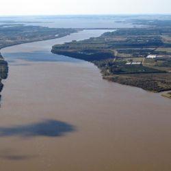 Las autoridades uruguayas del SINAE prevén una gran inundación en el litoral.