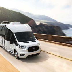 El vehículo cuenta con toda la tecnología de la Ford Transit 2020.