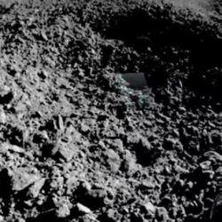 La sustancia gelatinosa lunar que analizan científicos chinos. | Foto:DPA