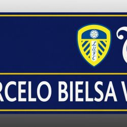 How the renamed Marcelo Bielsa Way street sign will look in Leeds.