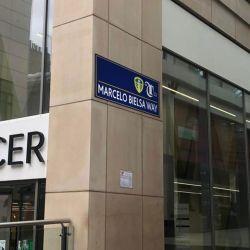 How the renamed Marcelo Bielsa Way street sign will look in Leeds.