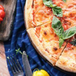 La masa, el corazón de una buena pizza.