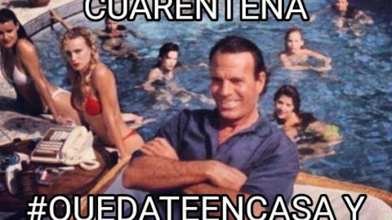 Julio Iglesias meme cuarentena | Foto:Cedoc