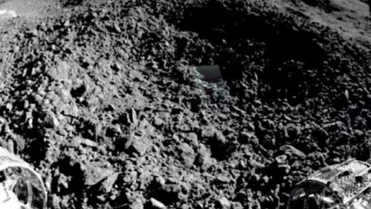 La sustancia gelatinosa lunar que analizan científicos chinos..