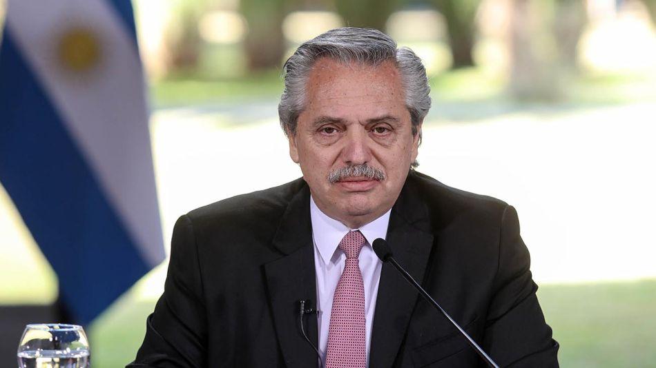 El presidente Alberto Fernández 20200717