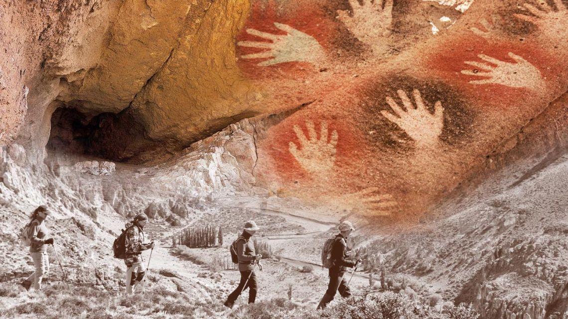 Cueva de las manos, Argentina.