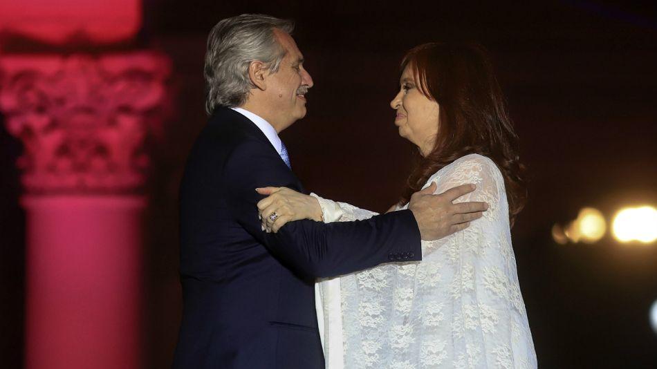 Alberto Fernández y Cristina Fernández de Kirchner.