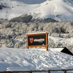 Así está Chapelco, a la espera de que llegue el 1 de agosto para recibir a los esquiadores.