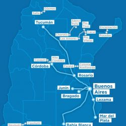Este es el cronograma de servicios de transporte ferroviario que gestiona el Ministerio de Transporte de la Nación.