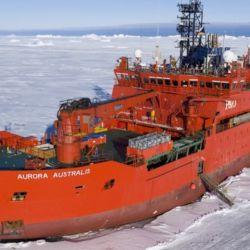 Así es el rompehielos australiano Aurora Australis que la Argentina quiere para acompañar al Irízar en la campaña antártica.