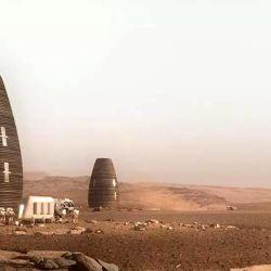 Su construcción se realizaría en suelo marciano a través de impresoras 3D y asistencia robotizada.