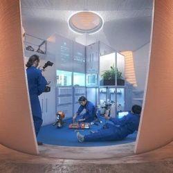 Es una casa habitable, duradera, resistente y sustentable.