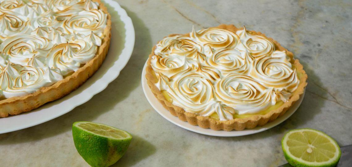 """Una receta """"amiguera"""" para hoy: key lime pie"""