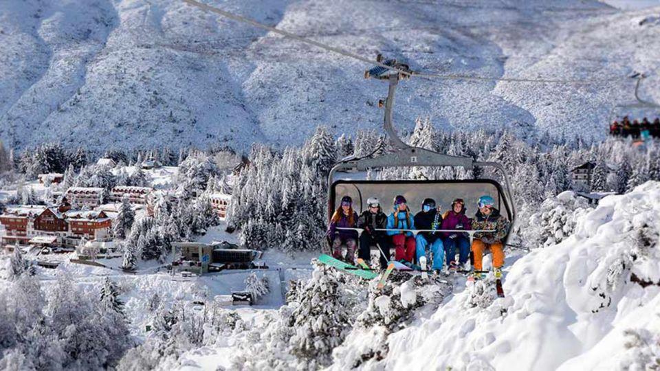 Cerro Catedral en funcionamiento 20200720