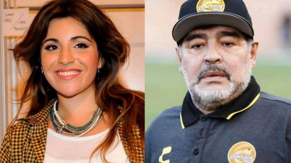 El sorprendente mensaje de Gianinna Maradona a su padre