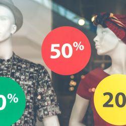 Descuentos y liquidaciones, un asunto histórico en la industria de la moda.