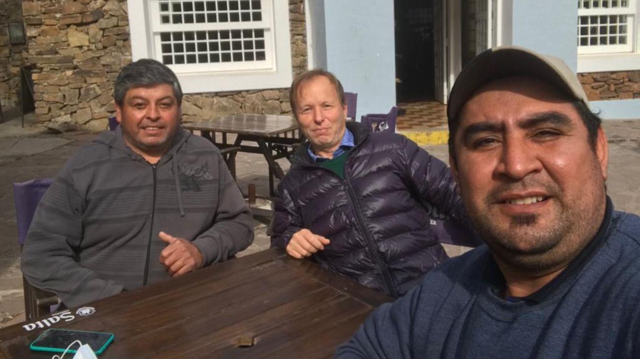Adrián Sagripanti, Aurelio Leiva y Andrés Mendoza, los tres santafesinos que vivieron una pesadilla en Salta.