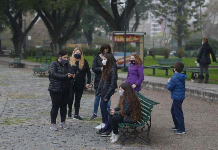 cuarentena parques ciudad de buenos aires