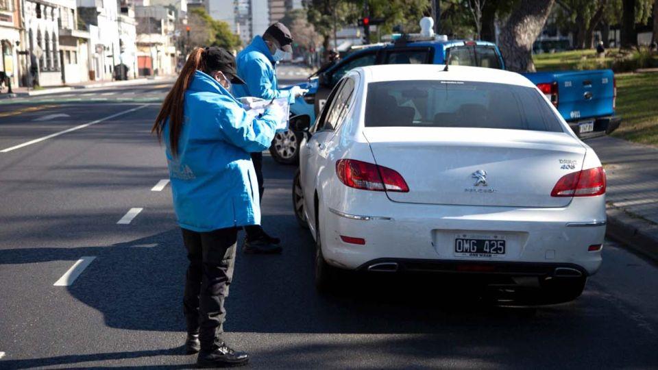 Los controles a automovilistas en CABA se hacen en 41 puntos de la Ciudad-20200721