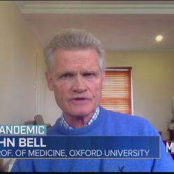 """Según John Bell, """"el virus estará aquí para siempre, no se va a ninguna parte""""."""