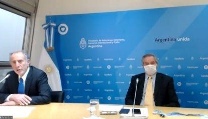 Felipe Solá presentó de forma oficial el Consejo Público Privado para la Promoción de las Exportaciones