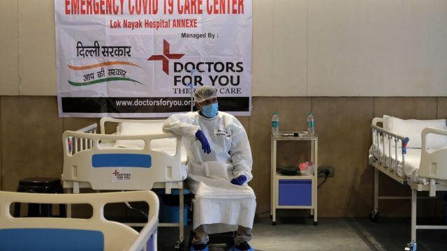 The Shehnai Banquet Hall Converted Into An Emergency COVID-19 Care Center as Crisis Bites