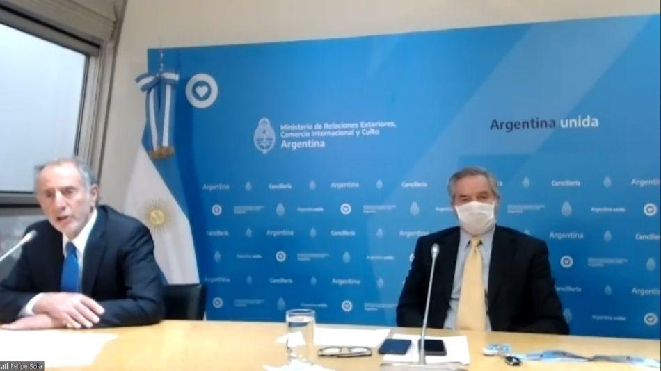 Felipe Solá empresarios lanza Consejo Público Privado Exportaciones 20200722