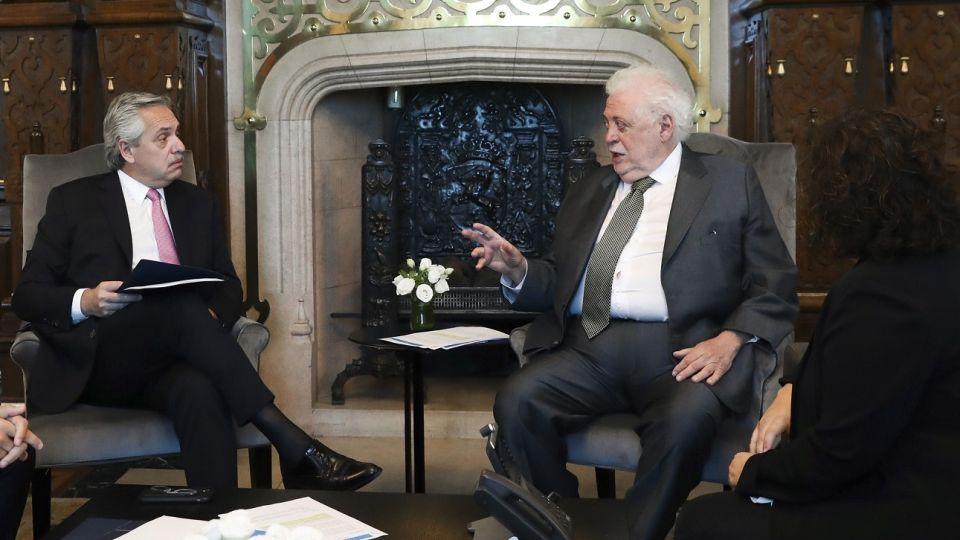 Ginés González García y Alberto Fernández