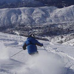 Así abrió hoy el Cerro Catedral para los equiadores barilochenses, en una prueba piloto.
