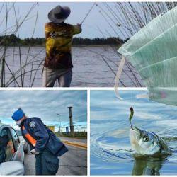 Los guías de pesca de la zona del Delta buscan poder volver a trabajar cuanto antes.