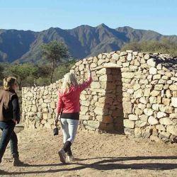 Ruinas de El Shincal, parte del imperio inca.