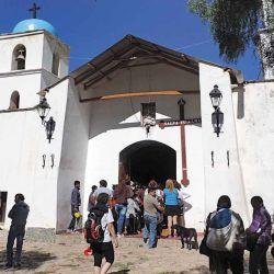 Iglesia de Guadalupe, en Nazareno.