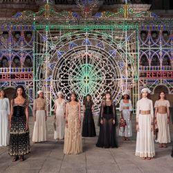 El desfile crucero de Dior en Italia.