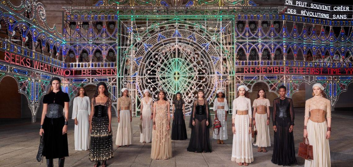 Dior: los mejores looks (también de make up) del desfile