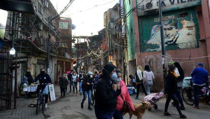 La dura vida en las villas miseria en el año de la pandemia