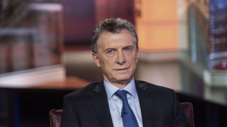 Ex presidente Mauricio Macri.