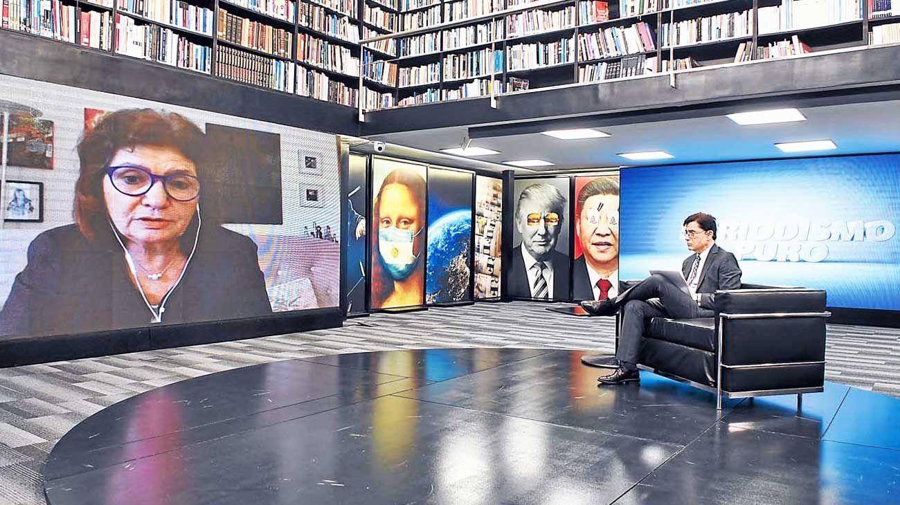 """""""El peronismo en el poder quiere un gobierno de partido único. La fórmila Alberto-Cristina no está funcionando: genera mucha incertidumbre acerca de dónde está el poder""""."""