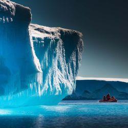 Se cree que la Antártida contiene hasta un 25 % del metano marino de la Tierra.