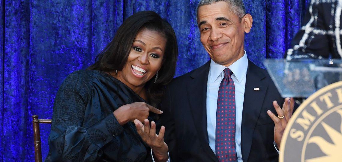 Michelle Obama confirma a su marido Barack como primer invitado de su podcast